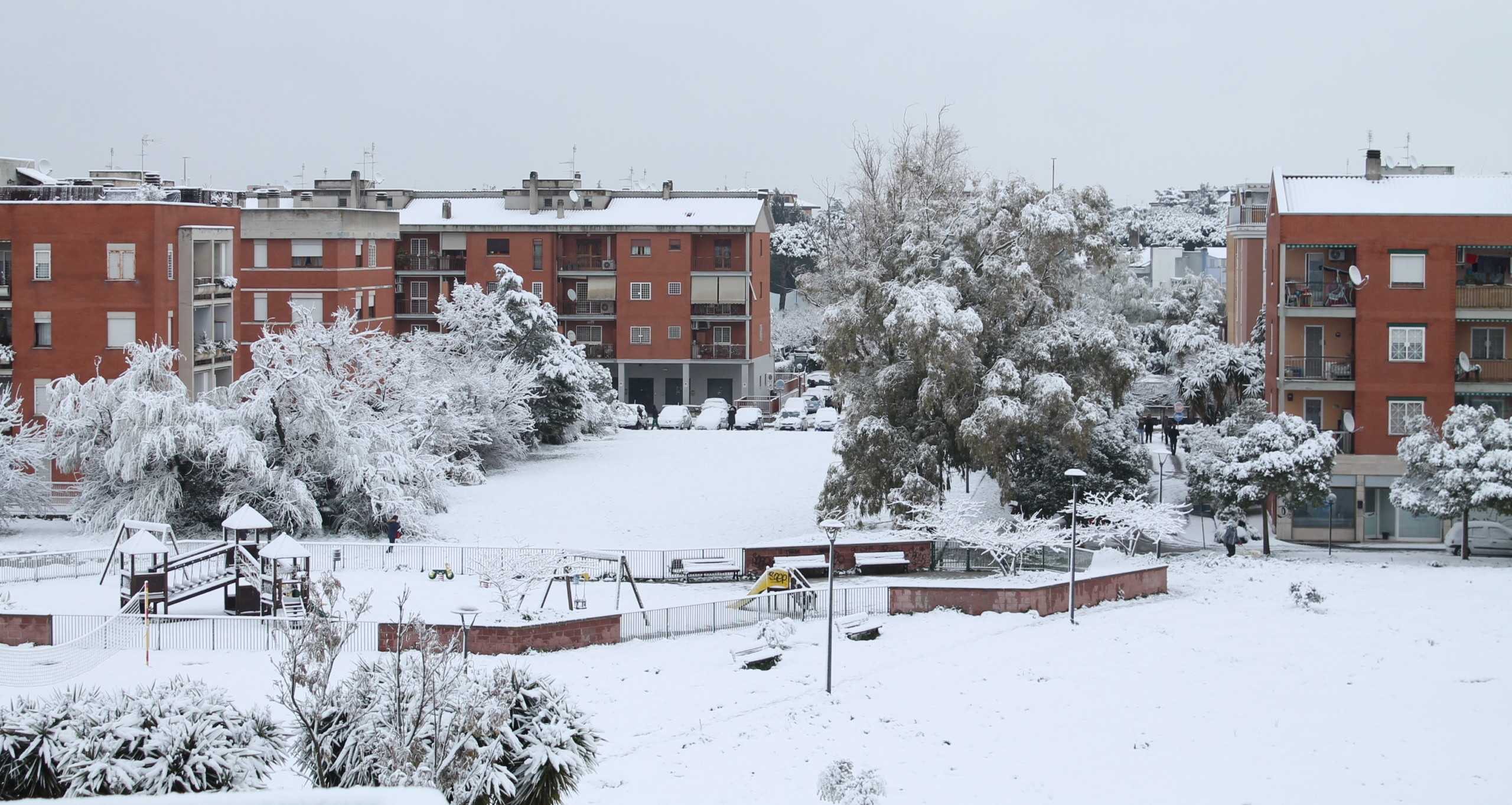 Dopo diversi anni è tornata la neve a Casal Brunori!