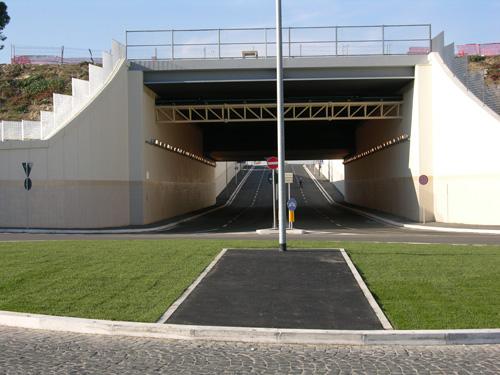Inaugurato il sottopasso Torrino-Mezzocammino