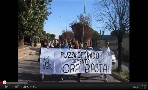 CdQ Torrino Decima – Manifestazione e corteo sabato 22 ottobre 2011 contro il DEGRADO e il CEMENTO !