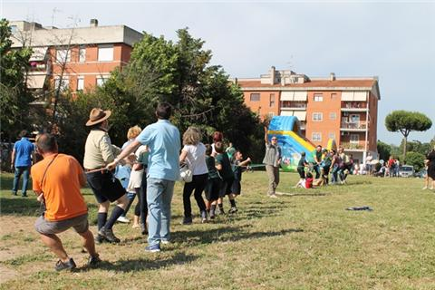 COM'E' ANDATA …. DOMENICA 31 Maggio – FESTA DI PRIMAVERA al parco di CASAL BRUNORI
