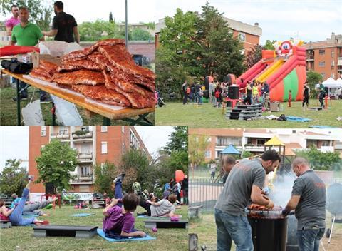 COM'E' ANDATA …. DOMENICA 8 MAGGIO … FESTA del quartiere CASAL BRUNORI & American BBQ PARTY