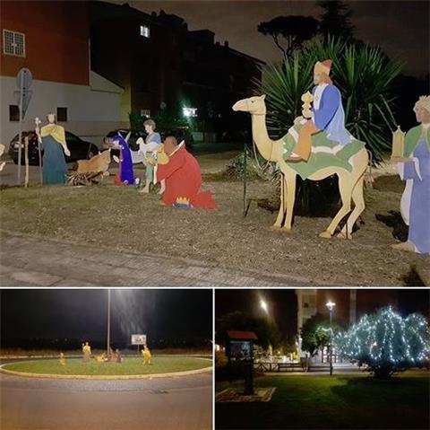 SABATO 22 Dicembre BENEDIZIONE del presepe di Casal Brunori