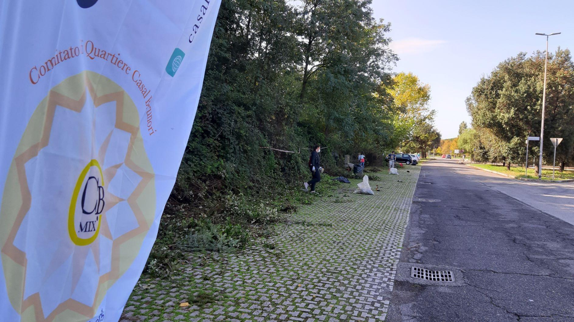 Domenica 25 ottobre … le pulizie del quartiere non si fermano